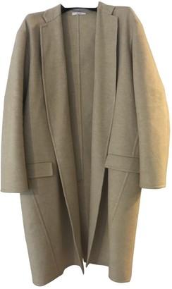 Celine Beige Cashmere Coat for Women