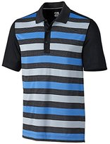Cutter & Buck Men's Cb Drytec Perspective Stripe Polo