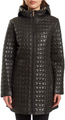 Kate Spade Semi-Fit Bow-Quilt Jacket