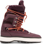 adidas by Stella McCartney Nangator rubber and quilted shell boots
