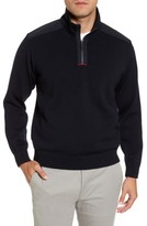 Paul & Shark Men's Bretagne Quarter Zip Wool Sweater