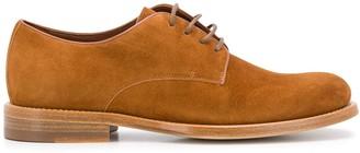 Santoni Low Heel Lace-Up Shoes