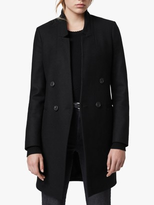 AllSaints Adrea Wool Blend Coat