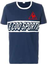 Le Coq Sportif logo print T-shirt