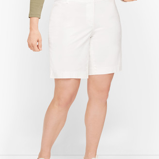 """Talbots Perfect Shorts - 9"""" - Solid"""