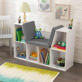 Kid Kraft White Bookcase with Reading Nook
