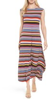 Chaus Women's Stripe Jersey Maxi Dress
