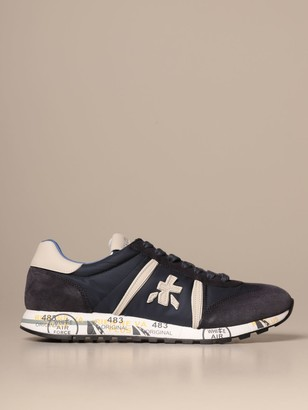 Premiata Sneakers Lucy Sneakers In Suede And Nylon