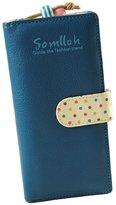Changeshopping(TM)New Fashion Women Long Purse Clutch Zip Bag Card Wallet