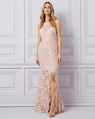 Le Château Lace Illusion Gown
