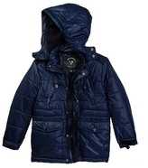 Urban Republic Matte Ciree Puffer Zip Off Hood Jacket (Little Boys)