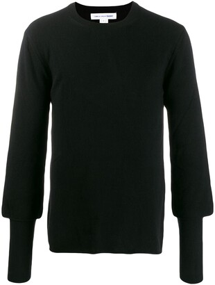 Comme des Garcons Relaxed Slim Cuff Sweater