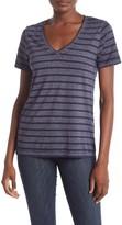 Lucky Brand Striped Burnout T-Shirt