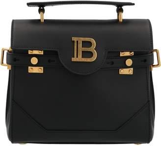 Balmain Logo Top Handle Tote Bag