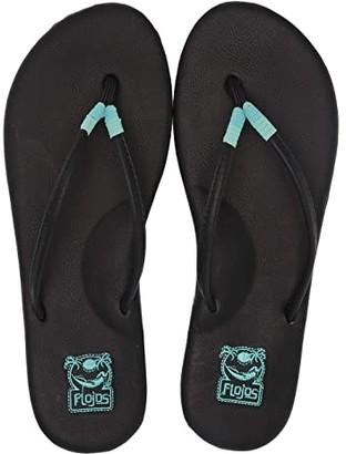Flojos Mina (Black Multi) Women's Sandals