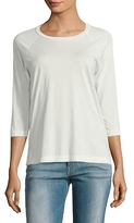 James Perse Clean Cotton Raglan Top