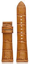Michael Kors Access Bradshaw Crocodile-Embossed Leather Strap