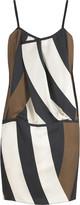 Block print camisole dress