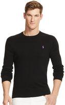 Polo Ralph Lauren Men's Slim-Fit Pima Crewneck Sweater