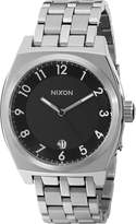 Nixon Women's NXA325000 Classic Analog Stainless Steel Black Dial Watch
