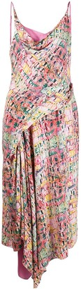 Sies Marjan Farrah crocodile-print dress
