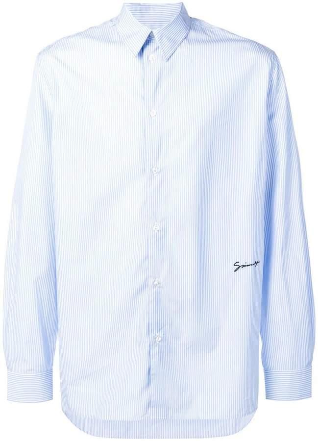 Givenchy striped long-sleeve shirt