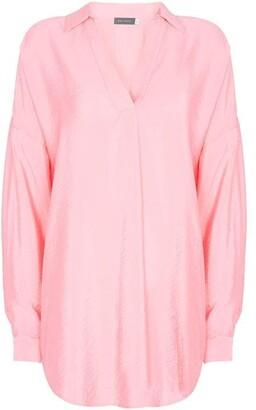 Mint Velvet Pink Oversized Shirt