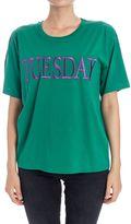 "Alberta Ferretti Tuesday"" Cotton T-shirt"""