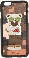 Furla Nettuno iPhone 6 case - men - Leather/Acrylic - One Size