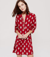 LOFT Flippy Shirtdress