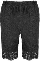 Gold Hawk English Lace Bermuda Shorts