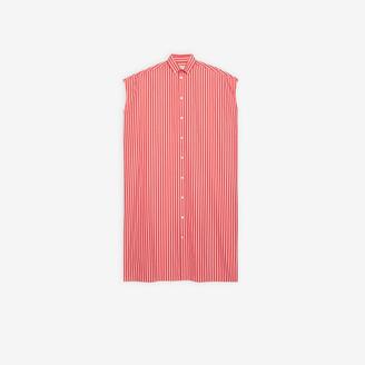 Balenciaga Rawcut Sleeve Dress