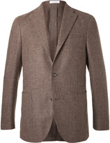 Boglioli - Brown Slim-fit Wool, Cotton And Cashmere-blend Blazer