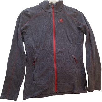 Salomon Purple Synthetic Jackets
