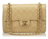 Chanel Pre-owned: Small Lambskin Classic Double Flap.