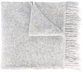Ami Alexandre Mattiussi fringed scarf - men - Nylon/Alpaca/Wool - One Size