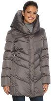 Hemisphere Women's Pillow Collar Down Puffer Jacket