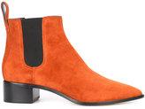 Loeffler Randall chelsea boots - women - Leather/Suede/Spandex/Elastane - 6