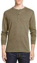 Billy Reid Harper Long Sleeve Henley Tee