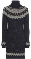 Valentino Knitted Turtleneck Sweater Dress