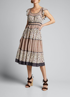 Ulla Johnson Odelia Midi Dress