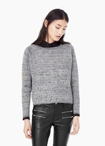 Mango Outlet Flecked Sweater