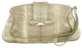 Tod's Snakeskin Wristlet Clutch