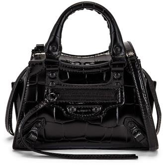 Balenciaga Neo Classic Nano in Black | FWRD