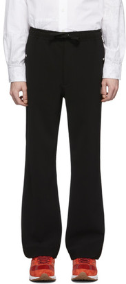 Needles Black Cowboy Piping Trousers