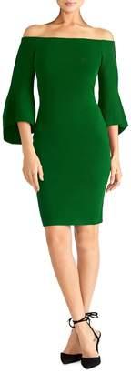 Rachel Roy Off-The-Shoulder Sweater Dress