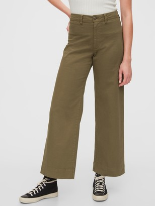 Gap High Rise Wide-Leg Pants