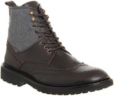 Ask the Missus Alibi Brogue Contrast Boots