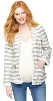 A Pea in the Pod Willow & Clay Tweed Maternity Blazer