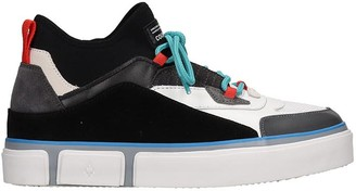 Marcelo Burlon County of Milan County Sneakers In White Leather